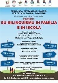 Cunvegnu: su Bilinguismu in famìlia e in iscola